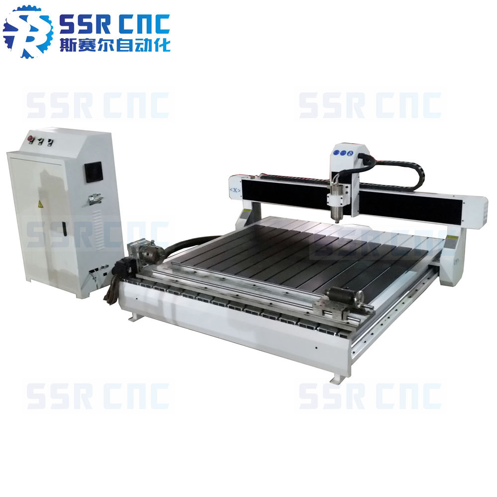 mini desktop 1200mm*1200mm cnc router/cast iron machine structure desktop cnc router SSR-1212D