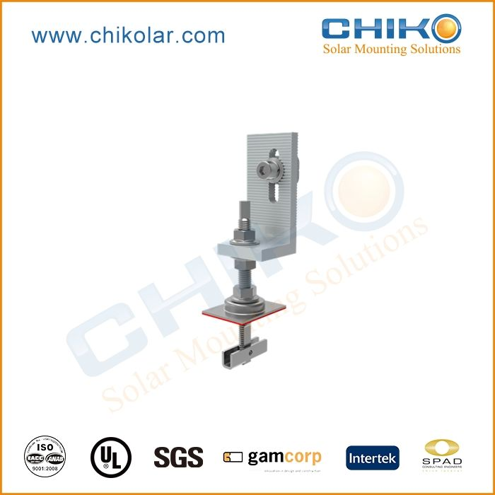 CE certification solar pv panel mounting clamp with factory price
