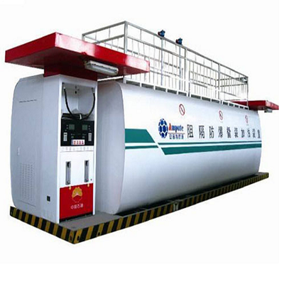 Containerized ISO 10000L-20000L mobile gas station/ Portable fuel station for sale