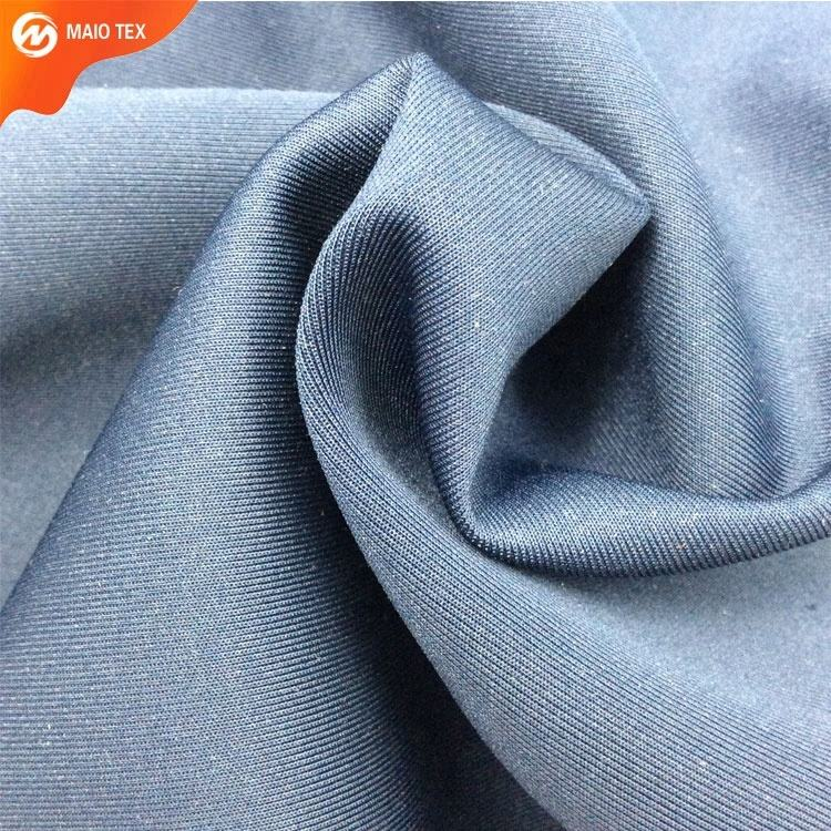 Textile High Quality Ready Goods Wholesale/Retail polyester spandex Solid Dye Scuba Fabric