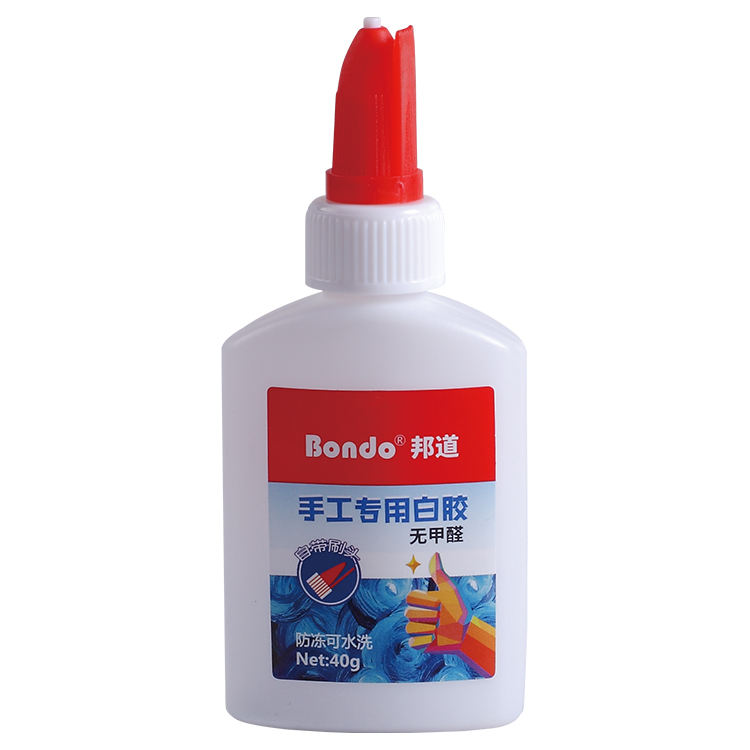Non-toxic high quality white glue 40ml for back to school or office