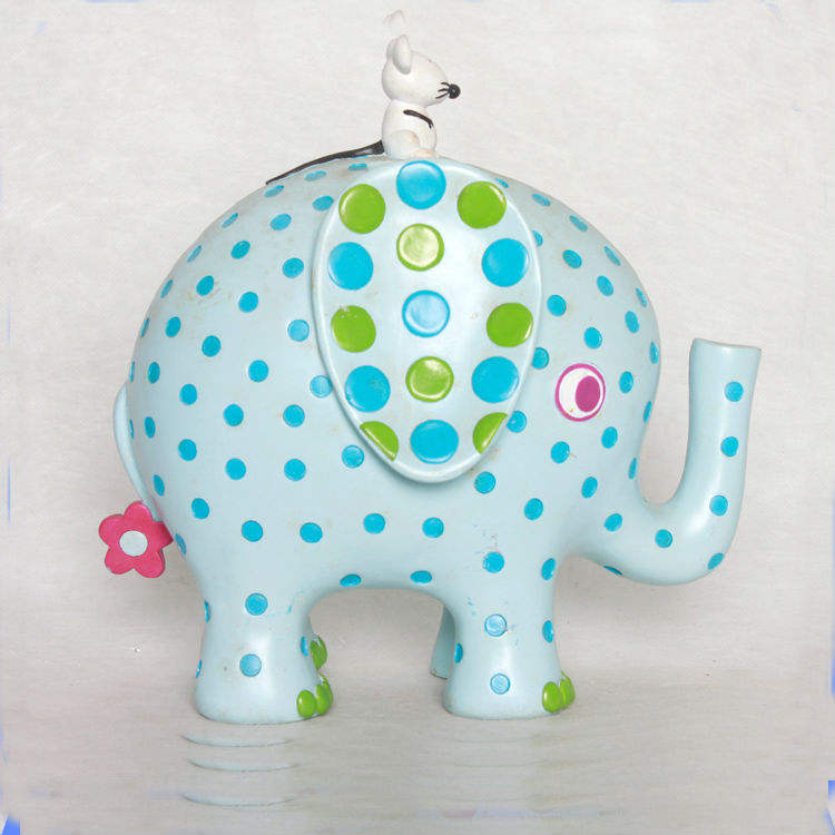 Lowest Price Custom Made Resin Elephant Piggy Bank