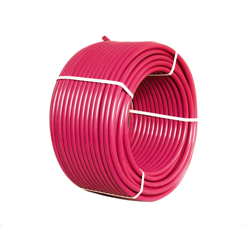 New 1/2in pex tubing with oxygen barrier evoh pex b red radiant floor heat