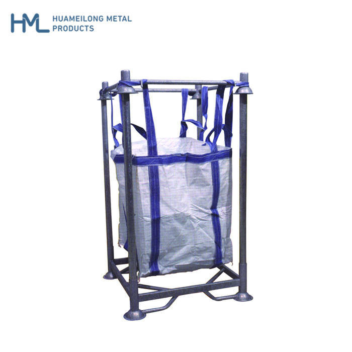 Stacking large heavy duty galvanized europe warehouse metal forklift steel pallet rack manufacturer with big bag
