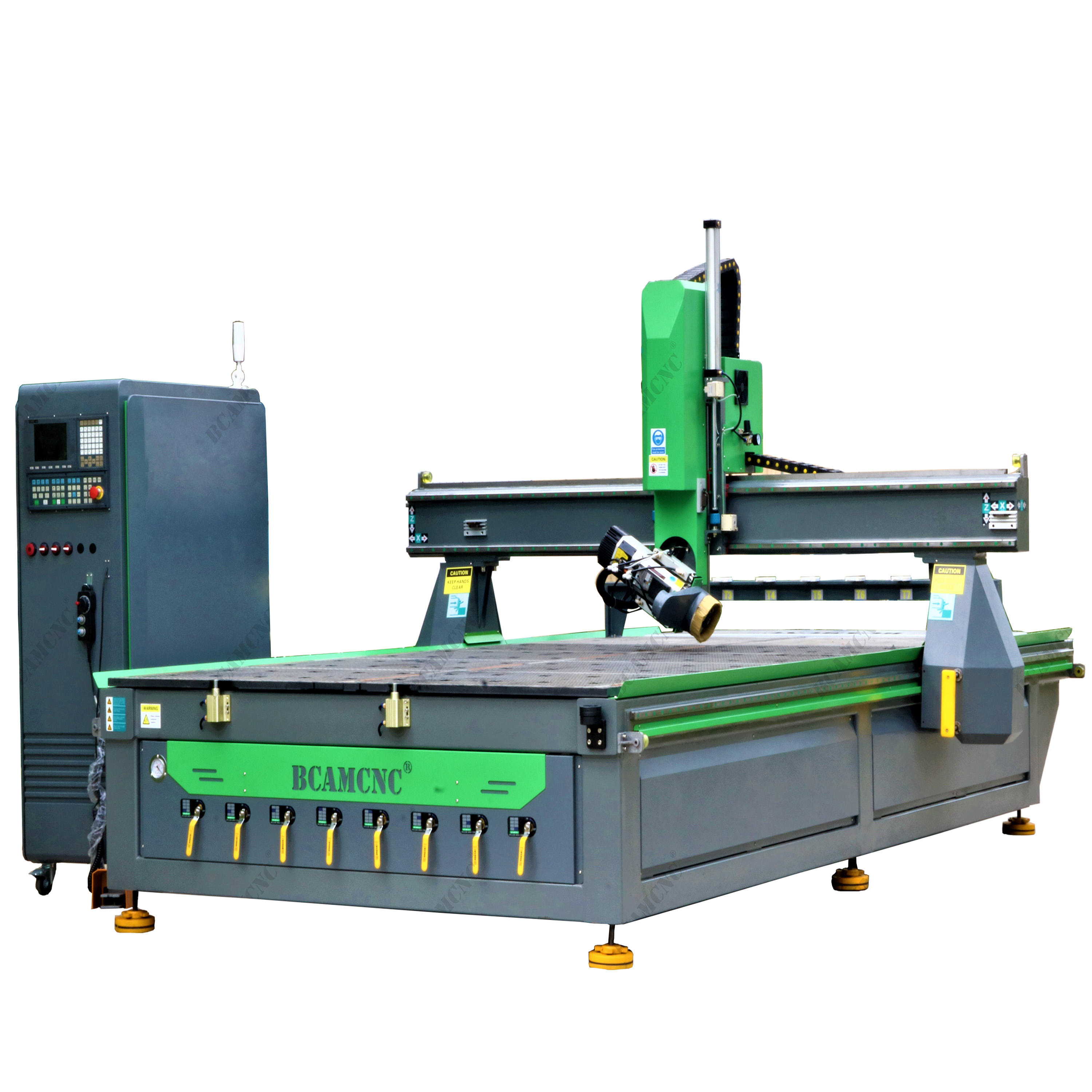 Bcamcnc 3D cnc router wood machine 4 axis cnc machine woodworking machine for foam, boat, face, body model cnc router
