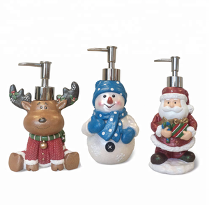2018 New Products Wholesale Christmas Gift Set Animal Shape Liquid Soap Dispenser for Home Decor