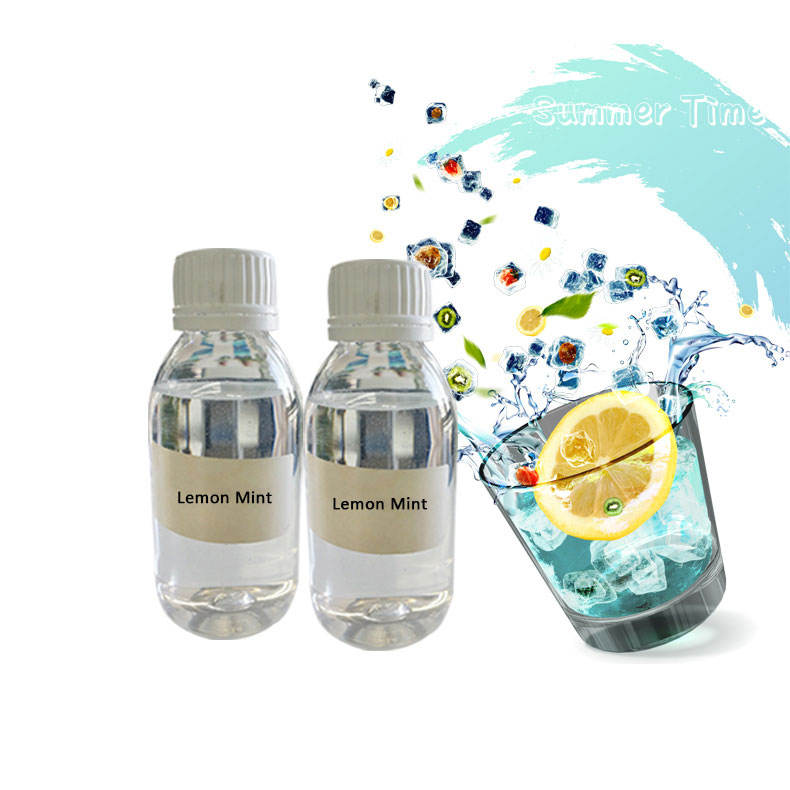 Factory Supply Natural High Lemon Mint Liquid Flavor For Tobacco Flavor
