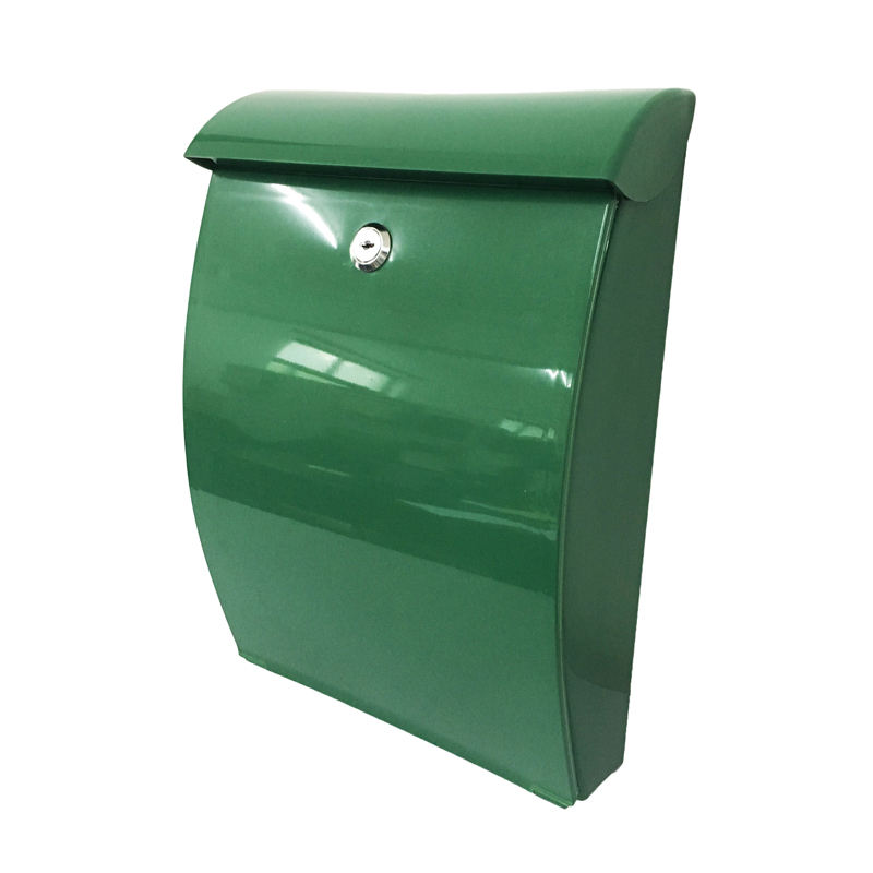 All new products parcel mailbox green plastic shipping mail box