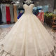LS01440 wedding gown dress sweetheart imperial bridal gown puffy ball gown