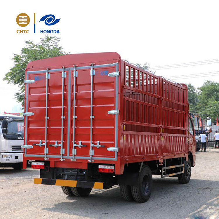 6ton 4*2 DONGFENG Two layers Stake Truck for Pig plant