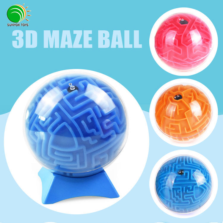 2018 Popular Intellect Ball Educational Magical Maze Game 3D Intellect Puzzle Ball Toys