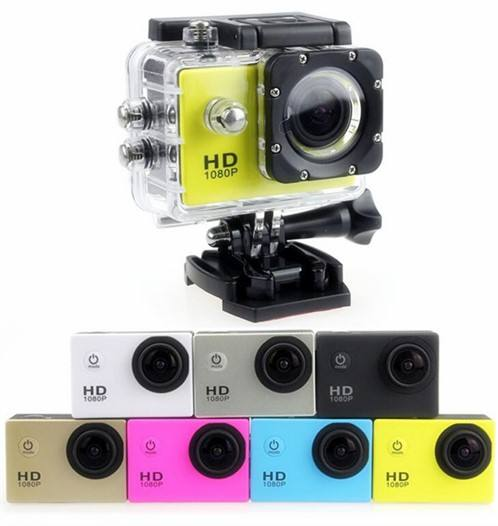 Outdoor Mini Action Camera Tahan Air Full HD 1080 P Olahraga DV Kamera Video