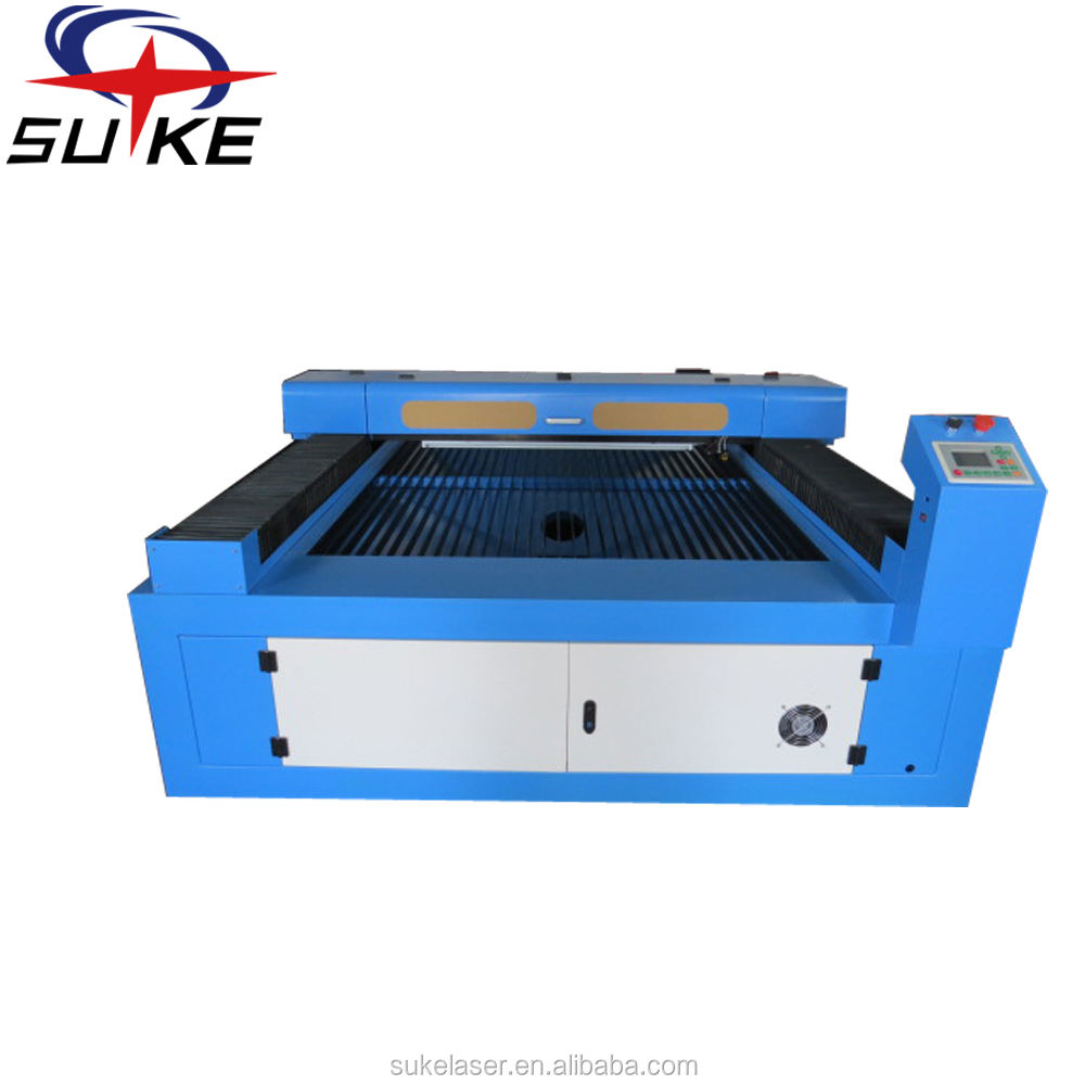 1300*2500mm co2 laser cutting price/ flatbed laser cutter engraver with chiller