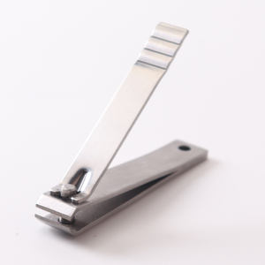 OEM design customized logo stainless steel straight jaw nail clipper