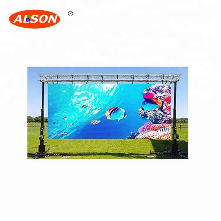 Outdoor Rental P4.81 Full Color LED Magic Screen For Big Project Stage Events