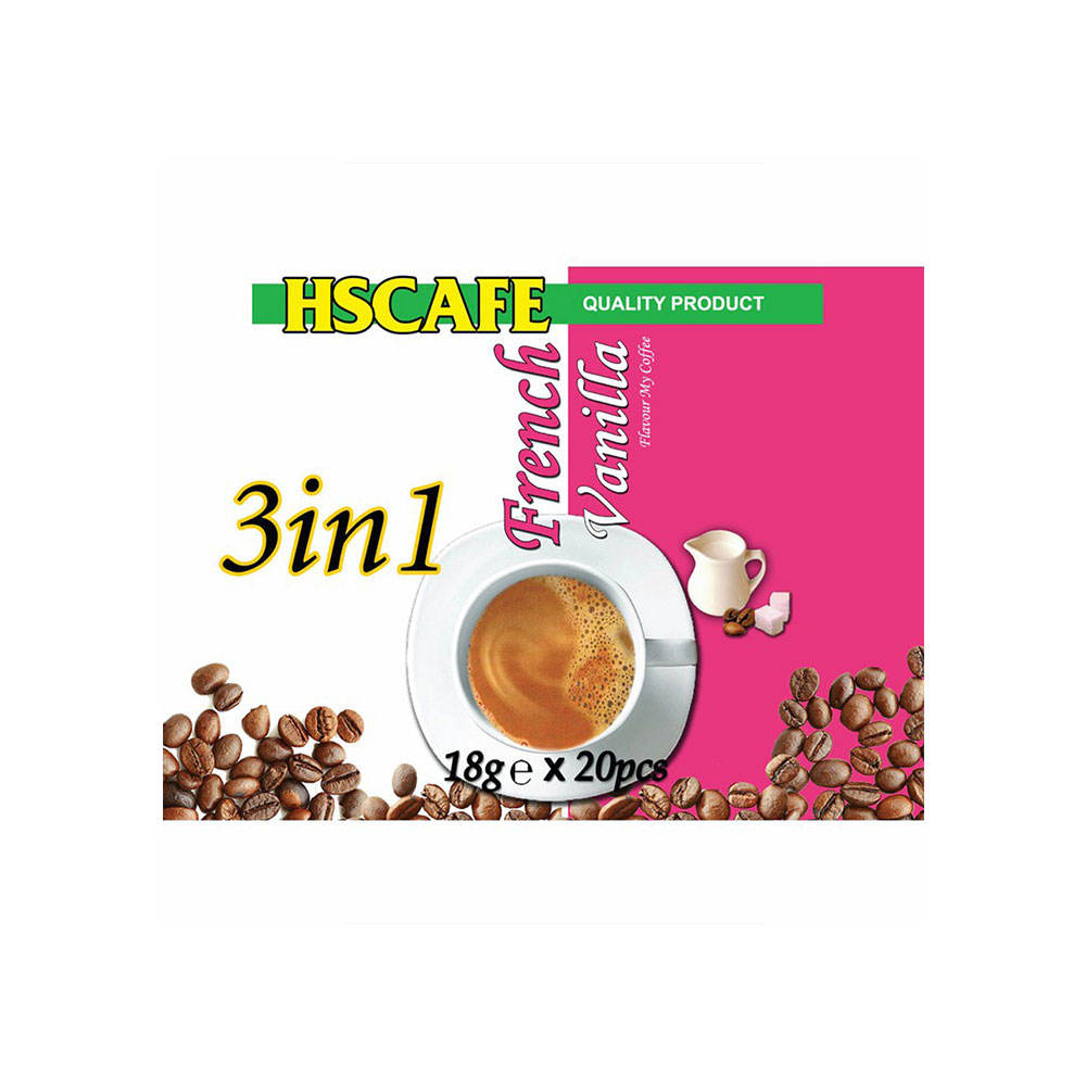 Singapore Good Taste HS Cafe 3 in 1 French Vanilla Coffee with Vinilla