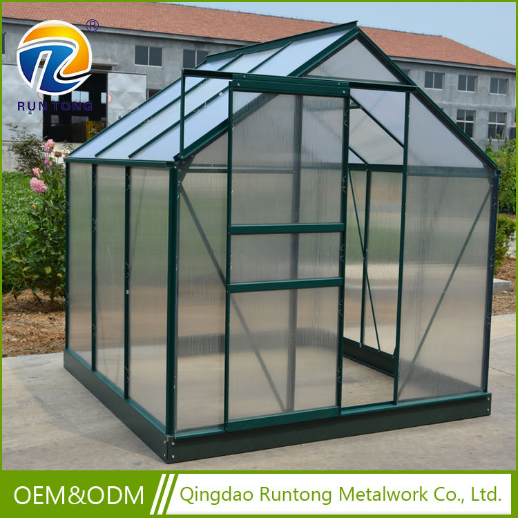 Wholesale Transparent polycarbonate PC Aluminium Tomato Greenhouse