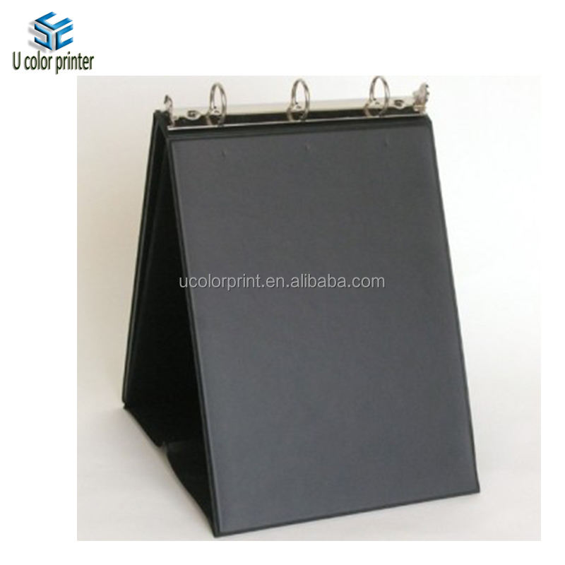 custom presentation rings folder A3 easel display binder