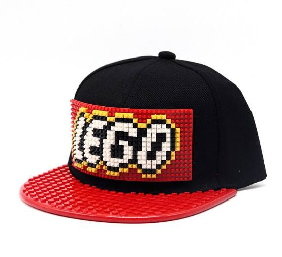Bricky Blocks Baseball Hat Compatible with LEGO