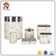 Made in china shell finished bathroom accessories 6pcs set