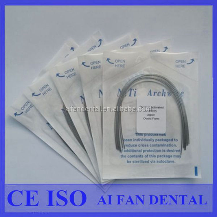 AiFan Dental Thermal Activated orthodontics archs wires NiTi Arches