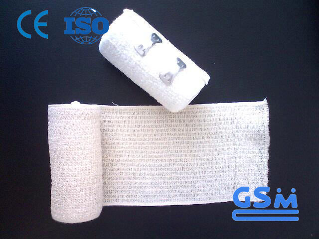 Absorbent Cotton Gauze Roll Crepe Bandage For Medical