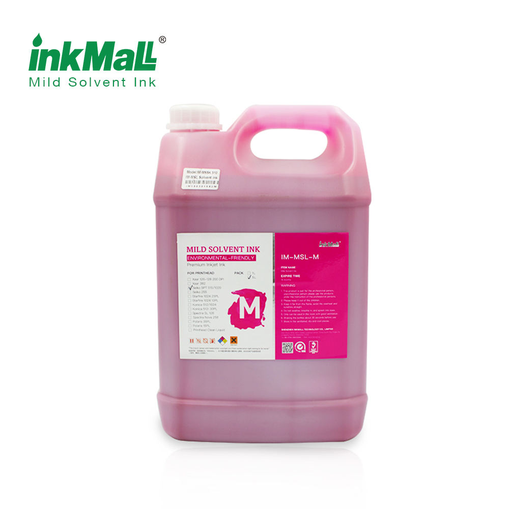 Shenzhen INKMALL sell outdoor printing ink for Xaar 382 Printers solvent ink