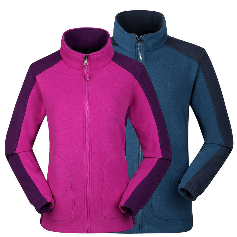 Wholesale custom made high quality warm polartec micro fleece jacket
