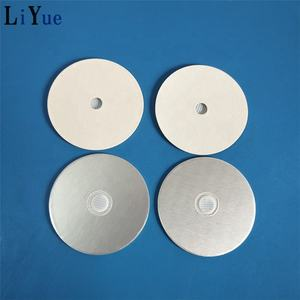 Vented Aluminum foil induction seal liner with for liquid fertilizer