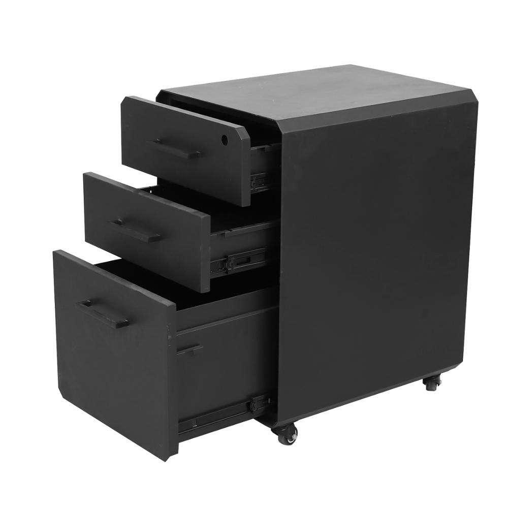 Hoja de metal de gabinete de archivo de móvil personalizada de acero Material de Oficina del Gabinete de archivo