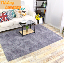 Chinese Supplier Wholesale Soft Shaggy Colorful 20mm Thickness Polyester Fibre Living Room Bedroom Area Rugs Carpet
