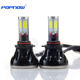 POPNOW Led auto headlight bulbs G5 H4 H7 9005 9006 with canbus four sides