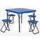 Outdoor Wooden Folding Portable Picnic Camping Set Table and Chairs