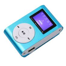 Hifi Portable Mirror Mini Mp3 Music Player Support 32GB without Digital LCD Screen with Clip