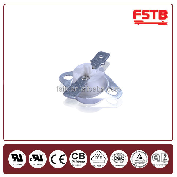 Quality Thermostat FSTB High Quality KSD301 Temperature Limiter Thermostat Bimetal Disc Temperature Switch 16a 125v