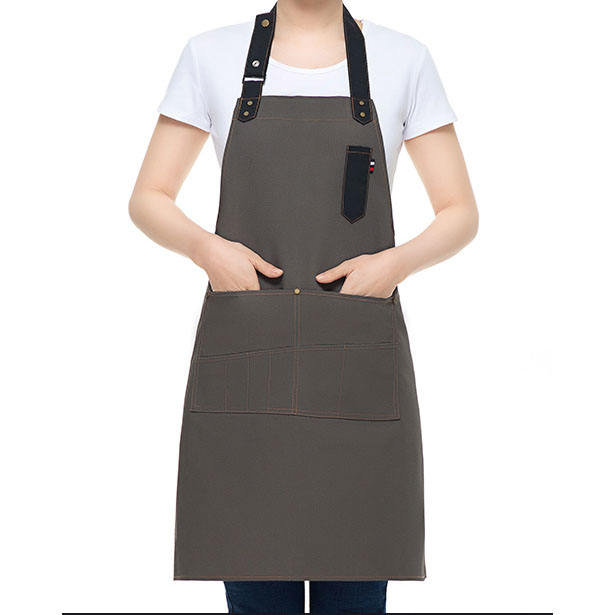 High-end work canvas tool apron for adult