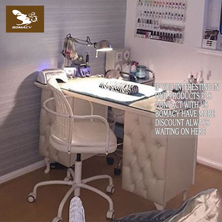 China Bomacy cheap nail table / manicure table for nail salon