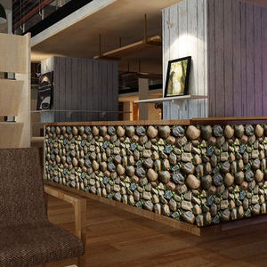 YIYAO Bionic Stone wall paper decorative 3d wall paper for hotel