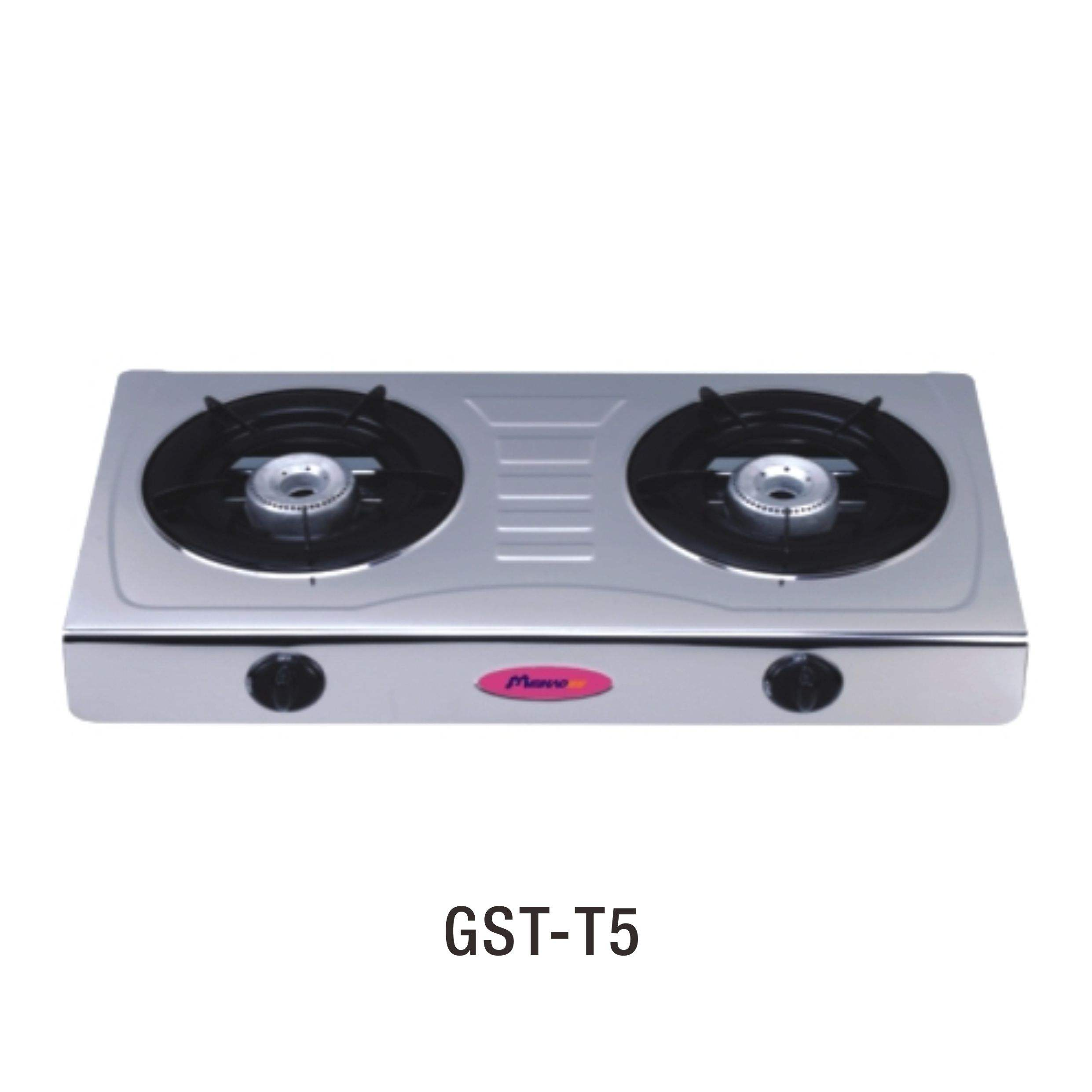 Home appliance 2 burner stainless steel table gas stove cooktop