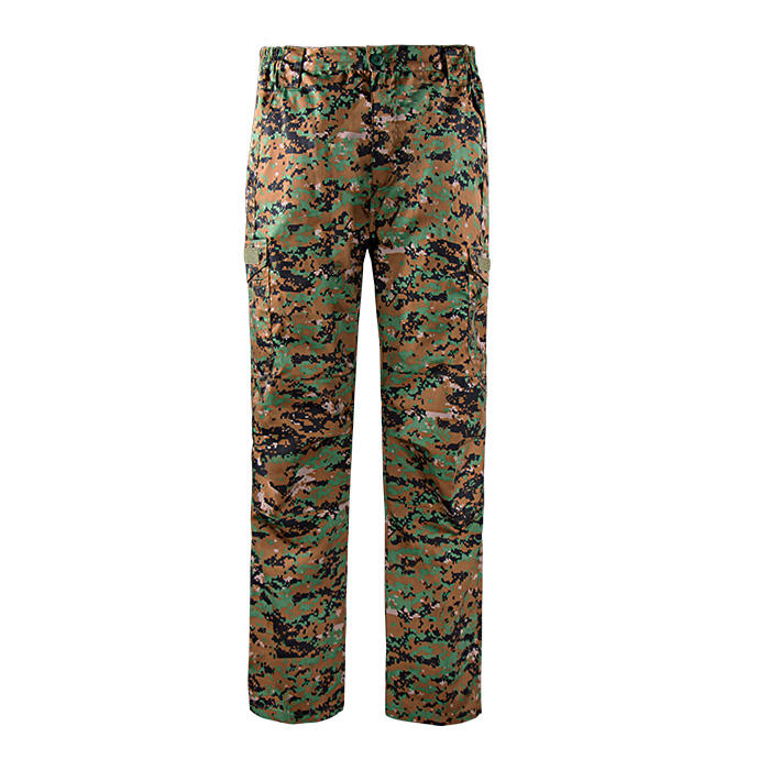 Combat uniform men's ฝ้าย Breathable camouflage ทหาร