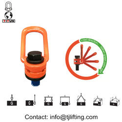 safety engineered Hoist rings for lifting/lifting eye bolts