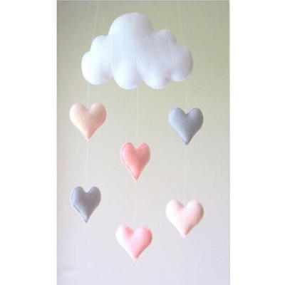 Cloud stars hanging ornaments children's room home decoration wall hanging tent nets decorative toys hanging