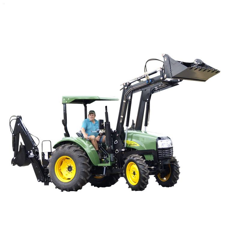 Chinois pas cher ferme petit <span class=keywords><strong>30hp</strong></span> 40hp 4wd compact <span class=keywords><strong>tracteur</strong></span> monté chargeur frontal avec seau à vendre