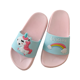For Women Summer Slippers 2019pvc Slide Sandals For Women Embossed Elephant Or Unicorn And Rainbow Pink Shoe Summer New Fashion Indoor Slippers For Ladies