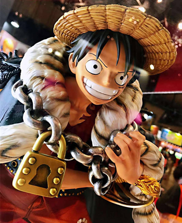 OEM 1/4 Scale Monkey D Luffy One Piece Mango 수지 피겨 동상