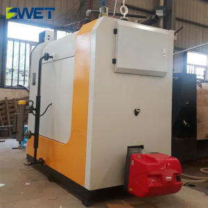 High quality heating gas steam boiler 1000kg/h dry clean plant boiler