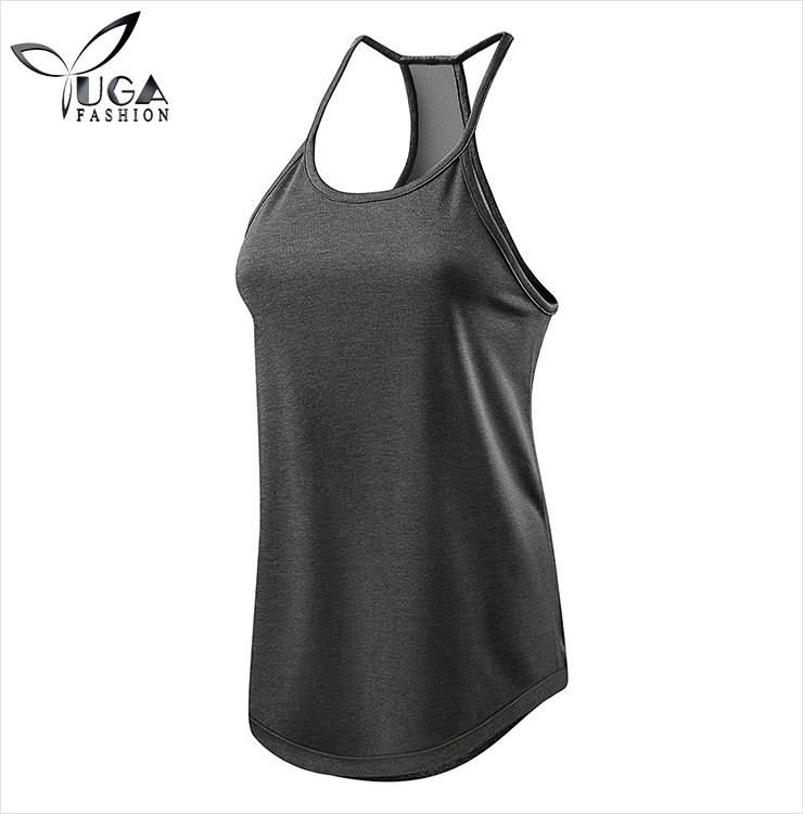 Women's Switch-Up Reversible Workout Tank Sleeveless Vest Top