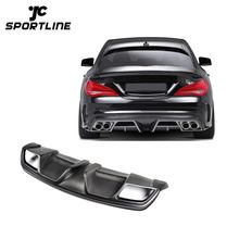 C117 W117 FRP Rear Air Diffuser for Mercedes Ben z Cla250 Cla45 Cla