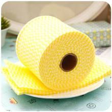 Factory direct supply hot selling disposable kitchen cleaning cloth roll