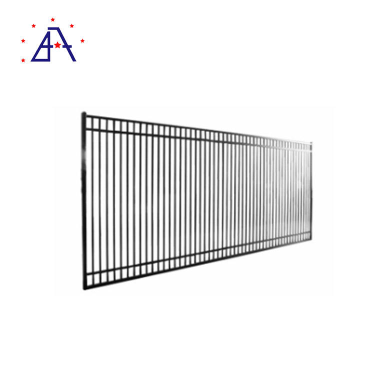 Top Quality New Design Custom security Black Chain Link Fence